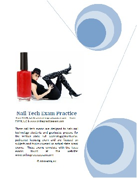 nail tech state board exam practice ebook